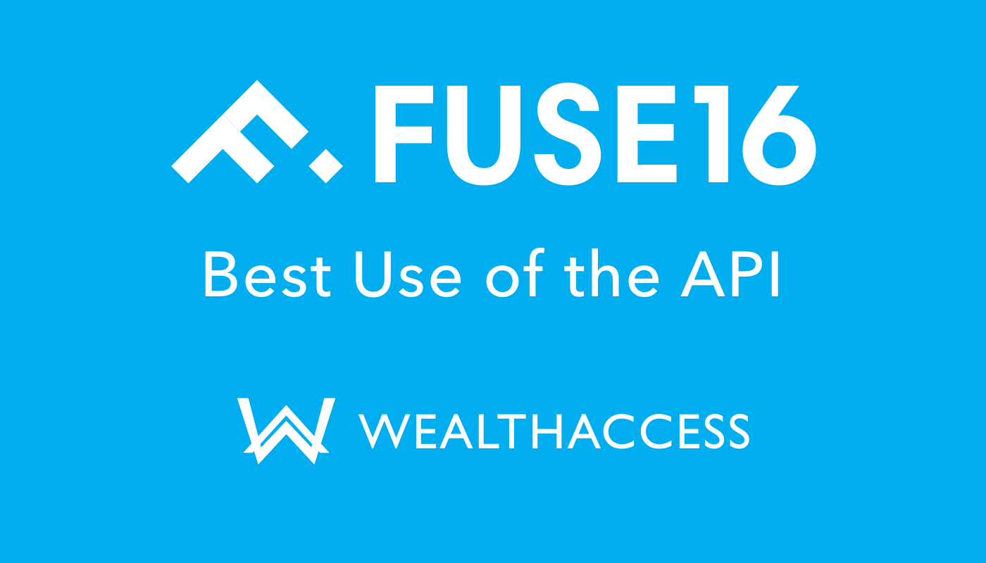 fuse 2016 award winner wealth access